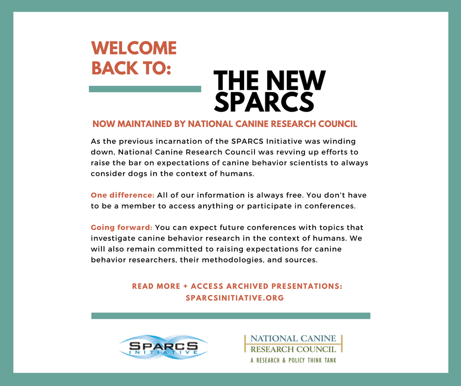 Welcome Back to SPARCS + 2018 Conference
